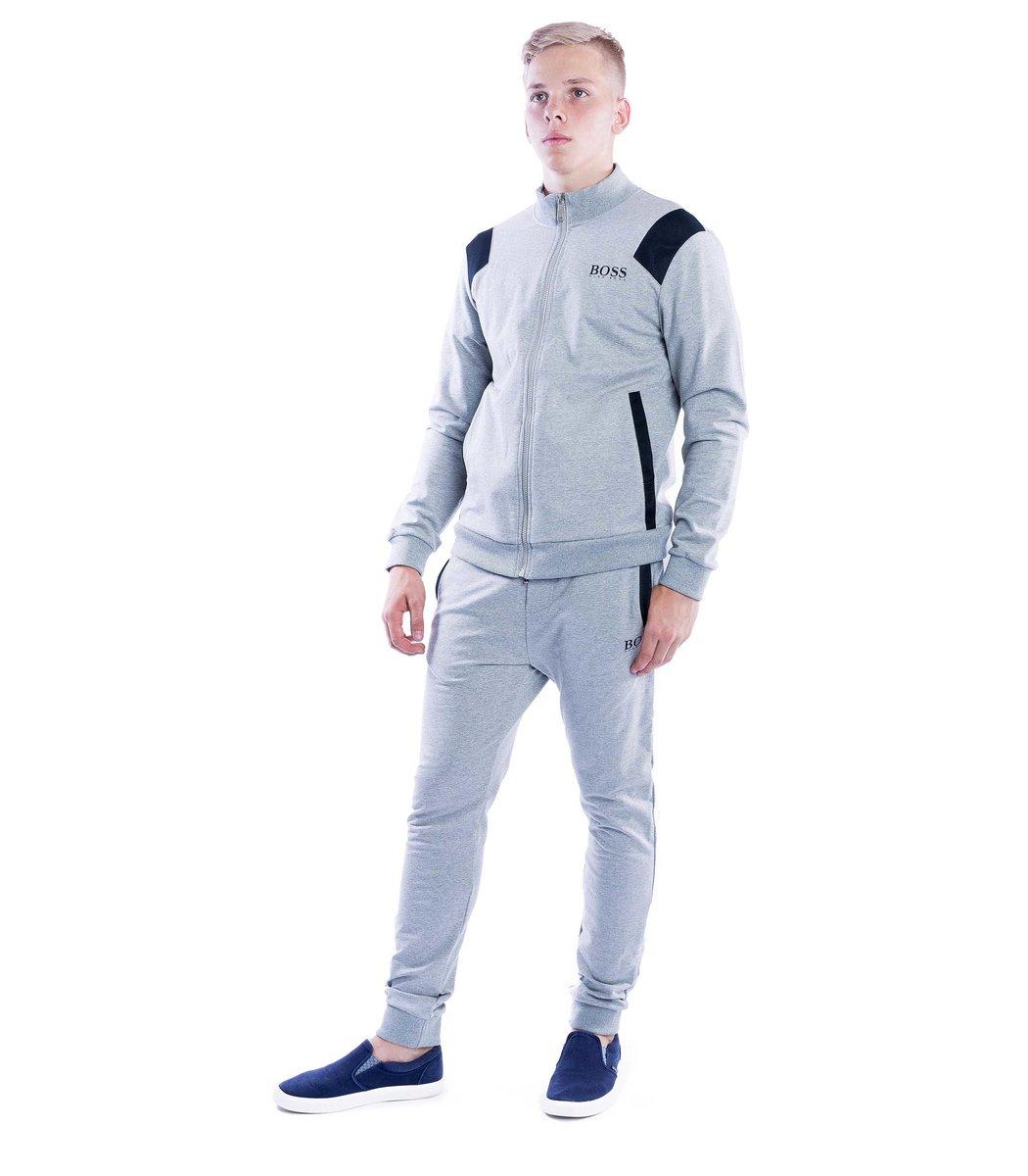Спортивный костюм Hugo Boss Training Серый - Серый - Вид 2
