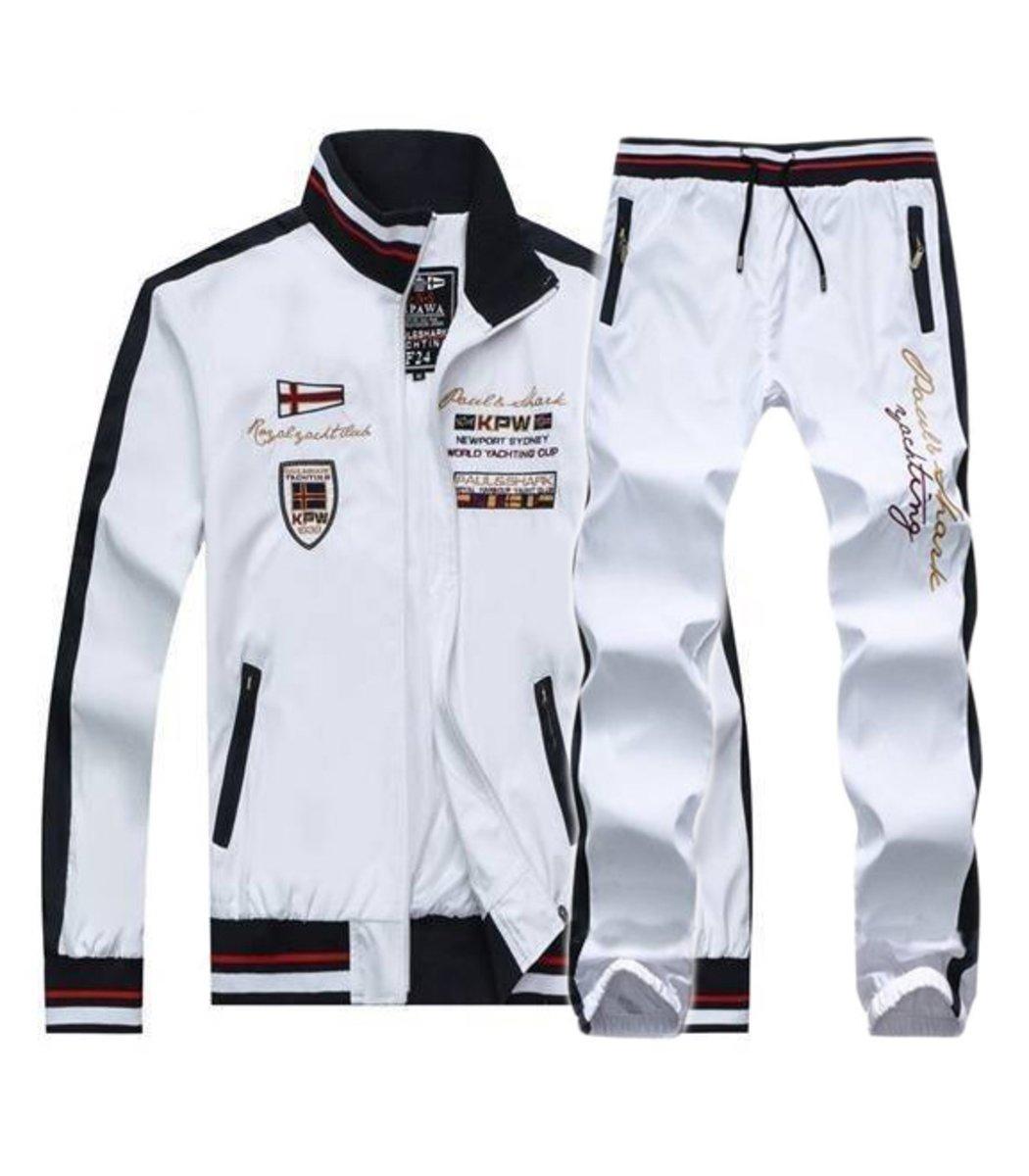 Спортивный костюм Paul Shark Brit Белый - Белый - Вид 1