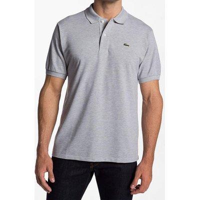 Мужская серая футболка поло Lacoste